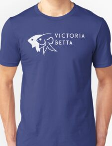 Victoria Betta - White logo T-Shirt