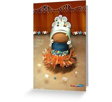 CHUNKIE Ballerina Greeting Card