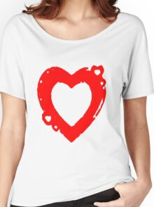 hearty Women's Relaxed Fit T-Shirt