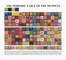 Periodic Table of the Muppets One Piece - Long Sleeve