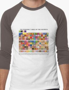 Periodic Table of the Muppets Men's Baseball ¾ T-Shirt