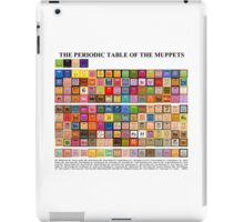 Periodic Table of the Muppets iPad Case/Skin