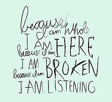 I am Listening (Poetry) by Adrian I. Garcia
