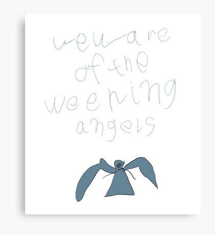 Weeping Angels Canvas Print