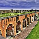 Fort Pulaski National Monument by georgiaart1974