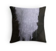 icy chandelier Throw Pillow