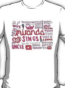 Miranda Sings Collage T-Shirt