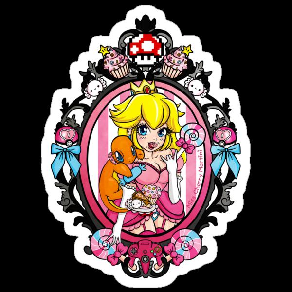 Princess Peach Pokemon Tattoo by Miss Cherry  Martini