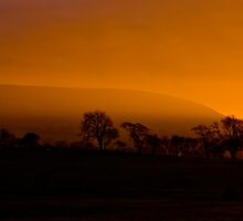 Pendle Hill Sunset by Max Blinkhorn