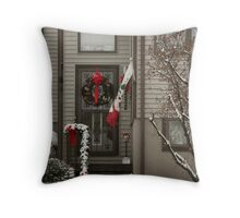 Winters' Mantle Throw Pillow