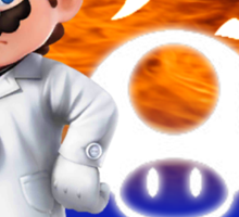 Super Smash Bros - Dr. Mario Sticker