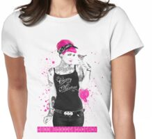 """A Splash of Colour"" Womens Fitted T-Shirt"
