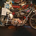 yes a load of japs  jawa  grass track speedway bikes i like  by TudorSaxon