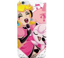 Princess Peach and Jiggly Puff Sing-a-Long iPhone Case/Skin