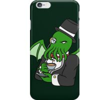 Gentlemanly Cthulhu iPhone Case/Skin