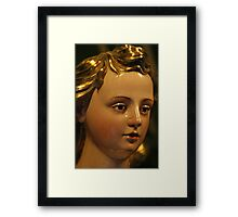 porcelin mary Framed Print