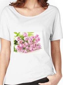 Tulip Pinky Women's Relaxed Fit T-Shirt