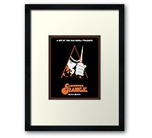 A Clockwork Orange  Framed Print