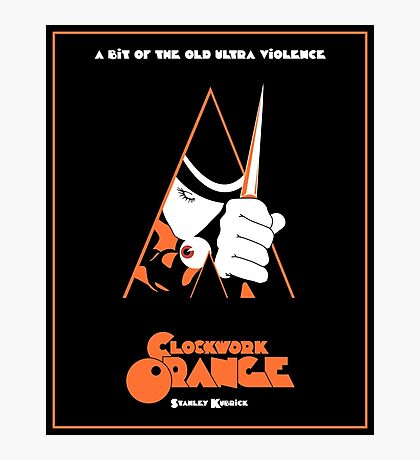 A Clockwork Orange  Photographic Print