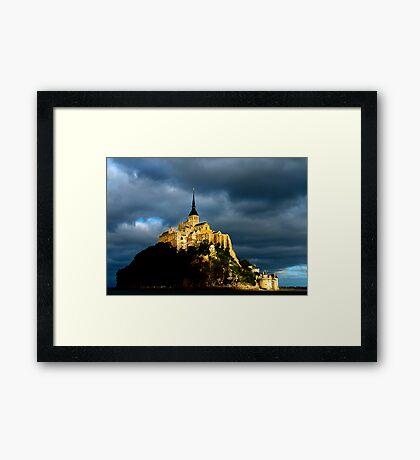 Mt St Michel Framed Print