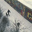 Berlin Wall 1987 by Cathie Brooker