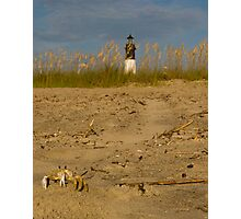Little Lighthouse Keeper Photographic Print
