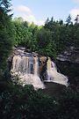 West Virginia Waterfall by Allen Lucas