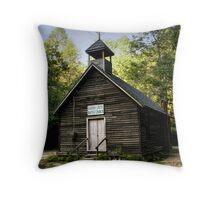 Garden Creek Baptist Church Throw Pillow