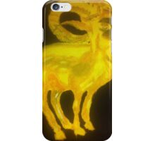 Golden Ram iPhone Case/Skin