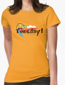 Tuesday Womens Fitted T-Shirt