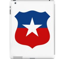 Chilean Air Force - Roundel iPad Case/Skin