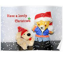 Have a lovely Christmas Poster
