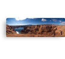 At the End of Hole-in-the-Rock Road. Utah Canvas Print