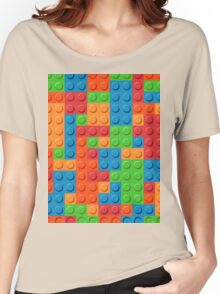 COLOR BLOCKS! Women's Relaxed Fit T-Shirt