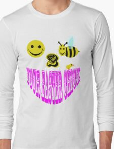 Happy 2 bee your easter chick Long Sleeve T-Shirt