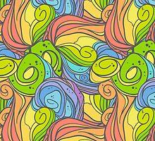 Rainbow Waves by paletskaya
