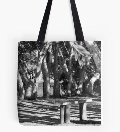 lake ainsworth bench seat Tote Bag