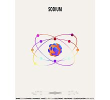 Sodium - Element Art Photographic Print