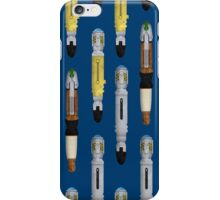 Sonic screwdrivers iPhone Case/Skin