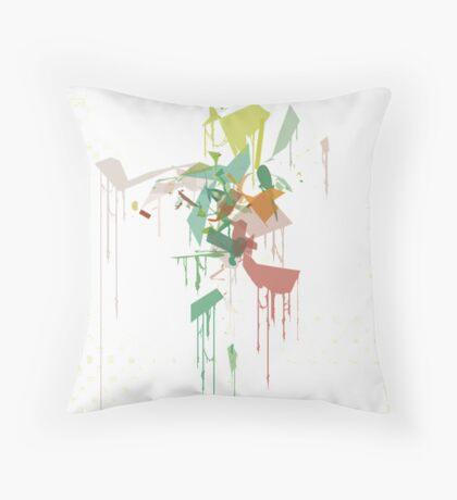 The Color Spot Throw Pillow
