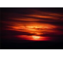 Sunset Poetry Photographic Print