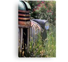 1946 Chevrolet - Rust & Ruins Metal Print