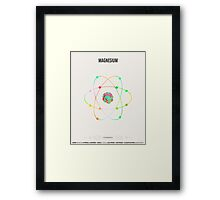 Magnesium - Element Art Framed Print
