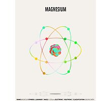 Magnesium - Element Art Photographic Print