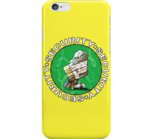 The Magical Security Blanket (yellow) iPhone Case/Skin