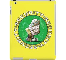 The Magical Security Blanket (yellow) iPad Case/Skin