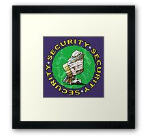 The Magical Security Blanket (purple) Framed Print