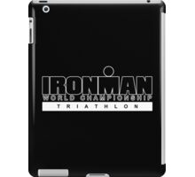 Ironman Triathlon World Championships Funny Geek Nerd iPad Case/Skin