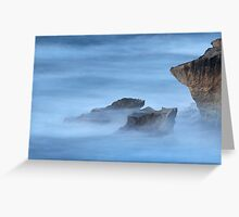 Time Turns the Storm to Mist Greeting Card