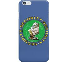 The Magical Security Blanket (blue) iPhone Case/Skin